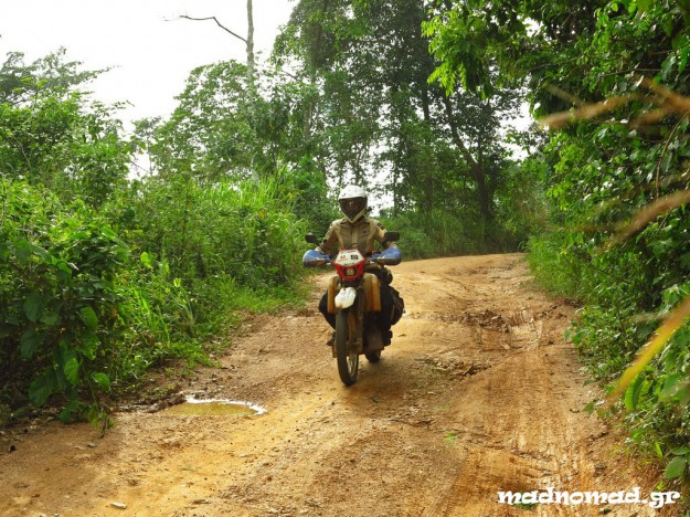 The mountainous route from Badou to Kpalimé was our favourite in Togo!