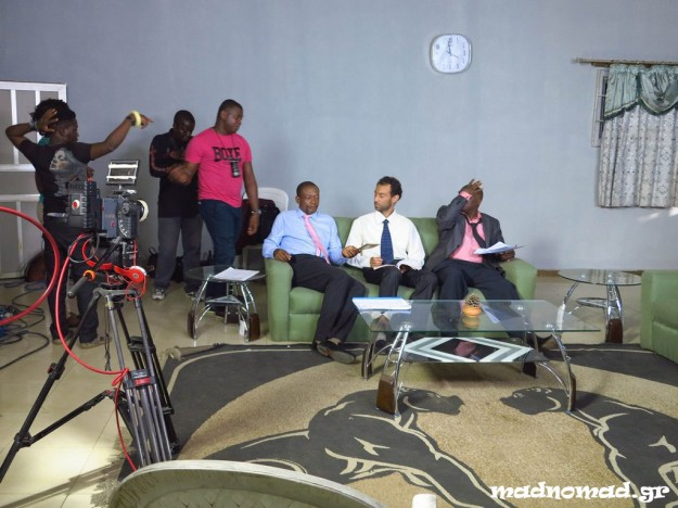 Unbelievable: I acted in a Nollywood movie (and I wore a tie for the first time in my life)!