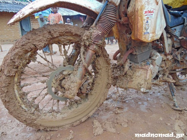 A lot of mud!