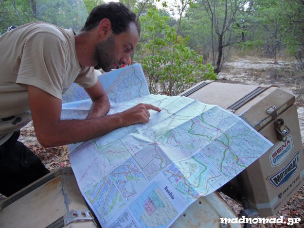 Planning my route on the map in order to avoid touching the asphalt...