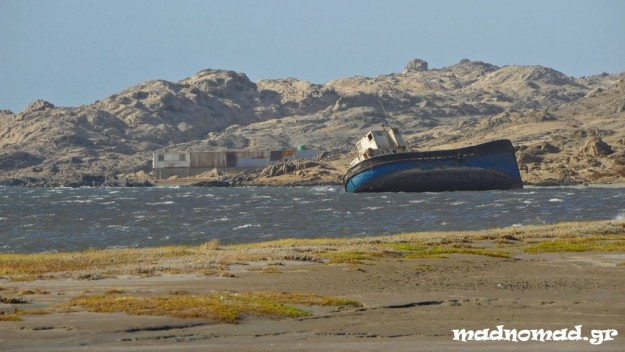 The Atlantic coastline around Lüderitz can be dangerous...