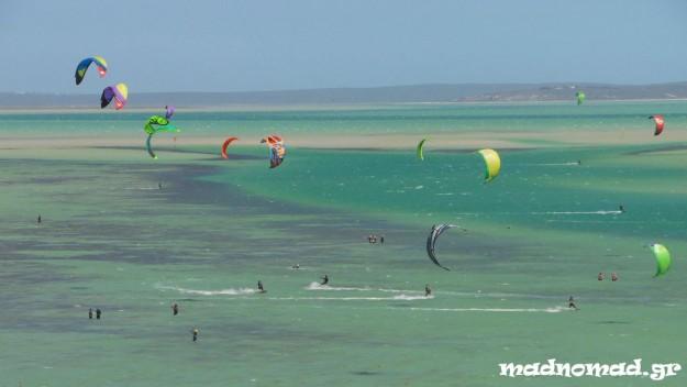 Langebaan: heaven for a kitesurfer!