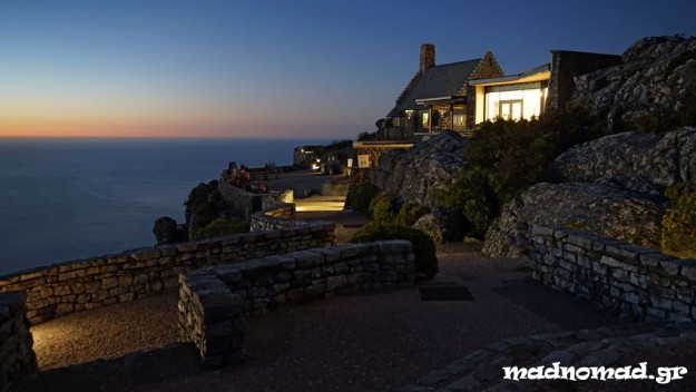 Το τελευταίο ηλιοβασίλεμα του 2014 από την κορυφή του Table Mountain!