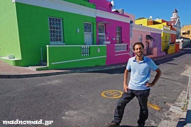 Η πολύχρωμη μουσουλμανική γειτονιά Bo-Kaap.