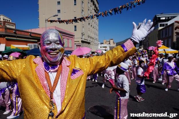 Το καρναβάλι του Cape Town οργανώνεται μετά την πρωτοχρονιά!