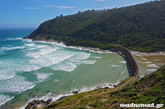 The entire Garden Route has an amazing beauty but especially the route from George to Wilderness took my breath away!