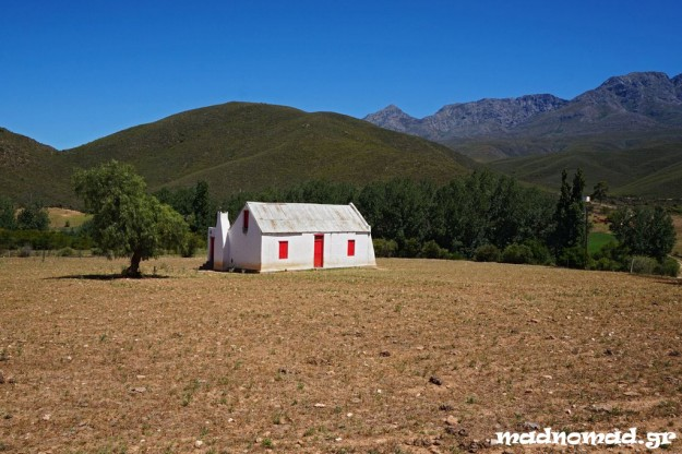 Farm at the brink of Karoo