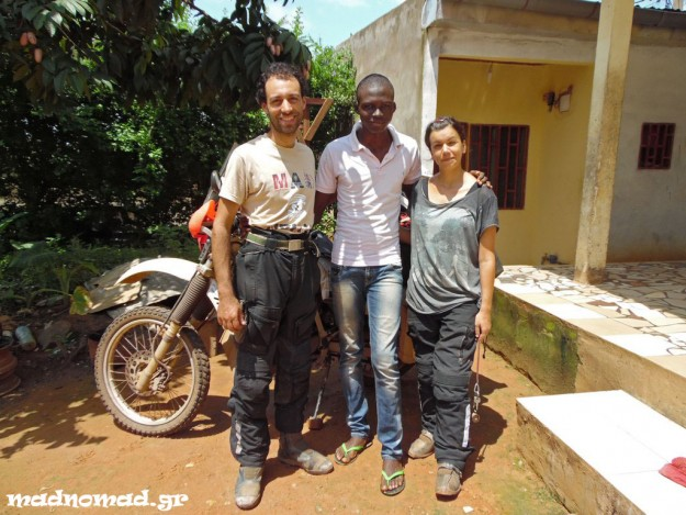 Loic from Cameroon gave us a letter in June 2014 and asked us to deliver it to his sisters in South Africa.