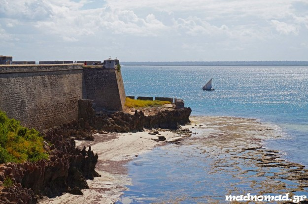 São Sebastião Fort in Mozambique Island is the oldest complete fort still standing in sub-Saharan Africa.