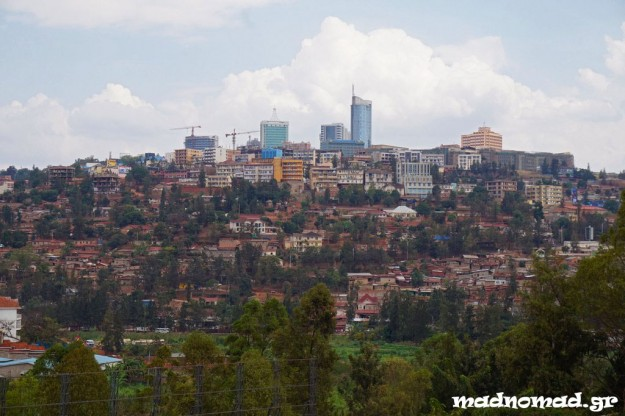 Kigali is thriving... It's an amazingly clean and well organized city for the African standards!