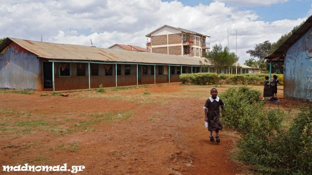 One of the 400 schools that are operated by the impressive Orthodox mission of Kenya for the ones in need...