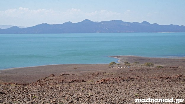 When you first lay eyes on Lake Turkana, after days of rough off-road riding, it's a special feeling...