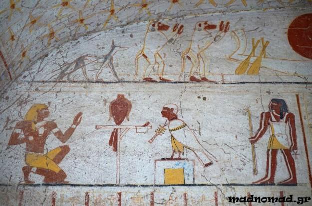 The ancient Tomb of King Tantamani in El Kurru