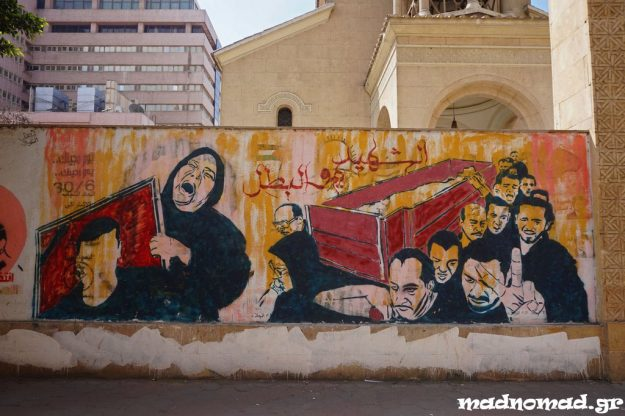 That's how the Arab Spring started in Egypt. It's a pity it turned out to be fall...