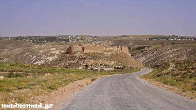 The ancient King's Highway passes though rolling pastureland, Roman ruins, Crusader castles and biblical sites. This is Shobak Castle, built in AD 1115 by the Crusader king Baldwin I.