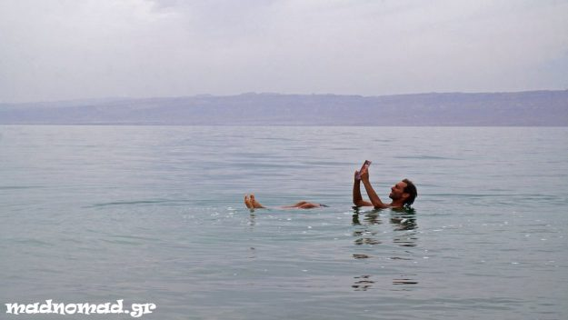 The Dead Sea, located on the lowest land on earth, has a salinity of 34%, which makes you float like never before!