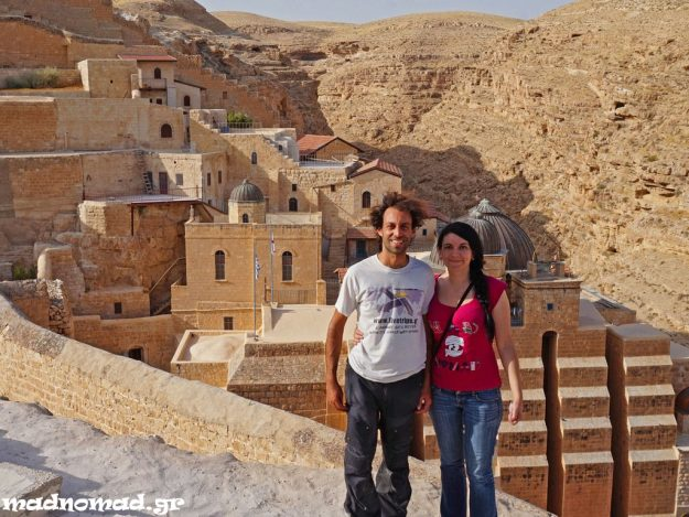 Mar Saba is a Greek Orthodox monastery built in a gorgeous location in AD 483. It still houses around 20 monks.