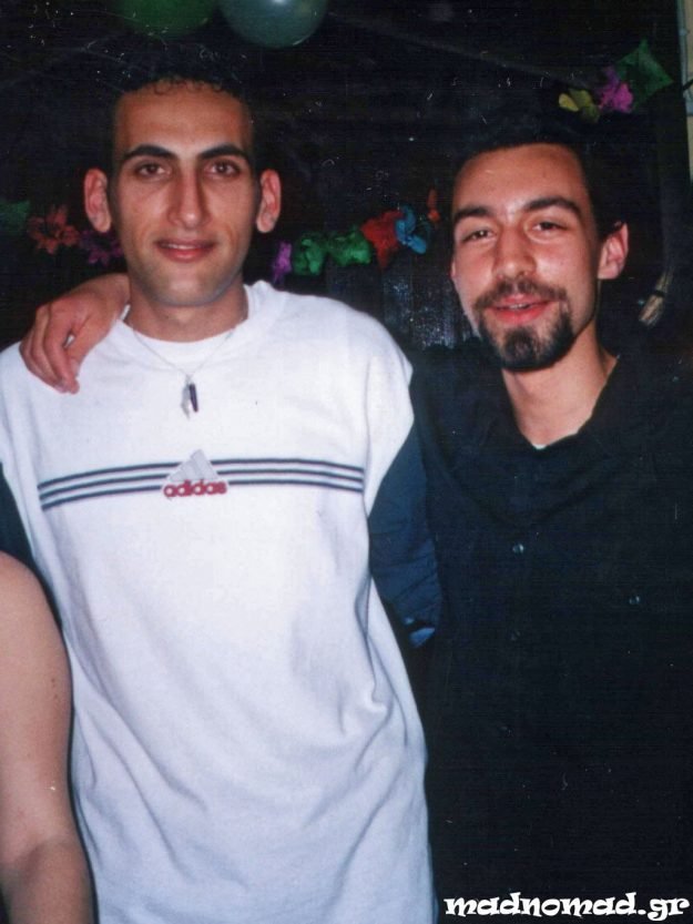 Ahmed was my flatmate in Greece since 2001 and we became such good friends, we call each other