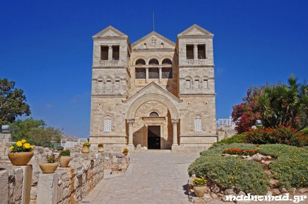 The Basilica of Transfiguration on Mt Tabor